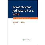 Komentovaná judikatura k a. s. 2019: Výběr k 1. 1. 2019