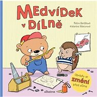 Medvídek v dílně: Obrázky se změní před očima - Kniha