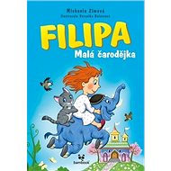 Filipa  Malá čarodějka: Tajemství modrého slona - Kniha