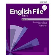 English File Fourth Edition Beginner Workbook with Answer Key - Kniha