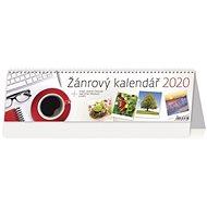 Žánrový kalendář - stolní kalendář 2020 - Kniha