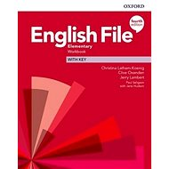 English File Fourth Edition Elementary Workbook with Answer Key - Kniha