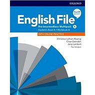 English File Fourth Edition Pre-Intermediate Multipack A: with Student Resource Centre Pack - Kniha