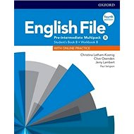 English File Fourth Edition Pre-Intermediate Multipack B: with Student Resource Centre Pack - Kniha