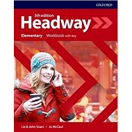 New Headway Fifth Edition Elementary Workbook with Answer Key - Kniha
