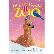 Ema a její kouzelná zoo Roztomilá lama - Kniha