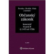 Občanský zákoník, Svazek IV (dědické právo): Komentář