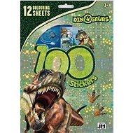 100 Dino stickers