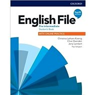 English File Fourth Edition Pre-Intermediate  (Czech Edition): with Student Resource Centre Pack - Kniha