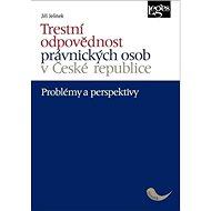 Trestní odpovědnost právnických osob v České republice: Problémy a perspektivy - Kniha