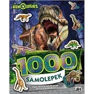 Dino 1000 samolepek - Kniha