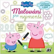 Peppa Pig Malování pro nejmenší: Uvolňovací cviky zábavně a hravě - Kreativní sada
