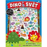 Dinosvět: Plno zábavných činností, krásné pěnové nálepky a vytlačovací karty.