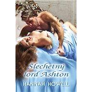Šlechetný lord Ashton - Kniha