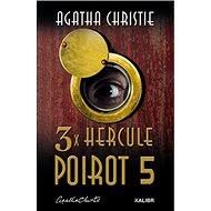 3x Hercule Poirot 5 - Kniha