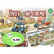 Život na farme: 3 podlahové leporelá = 1 veľká farma - Kniha