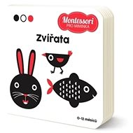 Montessori pro miminka Zvířata - Kniha