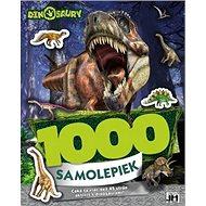1000 samolepiek Dinosaury: Čaká ťa viac než 45 strán aktivít s dinosaurami!! - Kniha