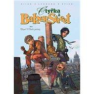 Čtyřka z Baker Street: Případ U Modré záclonky - Kniha