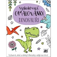 Pop-up colouring book Dinosaurs - Creative Kit