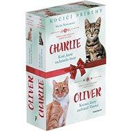 Kočičí příběhy Oliver + Charlie: Kotě, které zachránilo život, Kocour, který zachránil Vánoce - Kniha