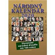 Národný kalendár 2020: Slovenské národné divadlo má 100 rokov - Kniha