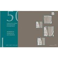 50 lidových písní 1: Akordeon - Kniha