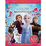 Samolepková knížka Ledové království 2 - Kniha