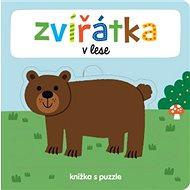 Zvířátka v lese: knížka s puzzle
