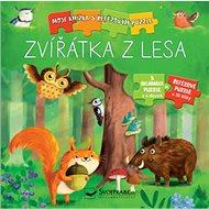 Zvířátka z lesa: Moje knížka s řetězovým puzzle - Kniha
