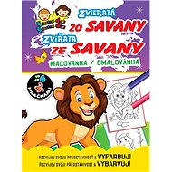 Zvieratá zo Savany Zvířata ze Savany: maľovanka / omalovánka - Kniha