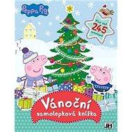 Vánoční samolepková knížka