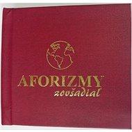 Aforizmy zovšadiaľ - Kniha