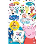 Activities with Peppa Pig rubbers - Creative Kit