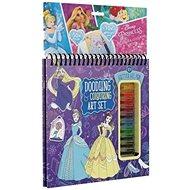 Disney Princess Gel Pen Block - Creative Kit