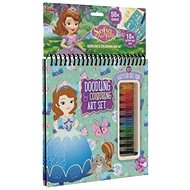 Block with gel lips Sofia the First - Creative Kit