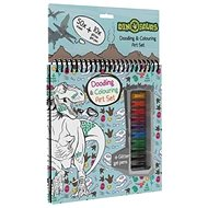 Block with gel lips Dinosaurs - Creative Kit
