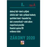 Zákony 2020 I. část B Účetní zákony (Úplná znění po novelách k 1. 1. 2020) - Kniha