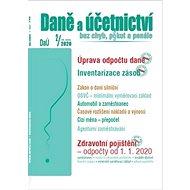 Daně a účetnictví bez chyb, pokut a penále 2/2020: Úprava odpočtu daně, Inventarizace zásob, Zdravot - Kniha