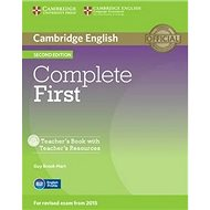 Complete First Teacher's Book with Teacher's Resources CD-ROM - Kniha
