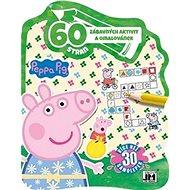 60 zábavných aktivit a omalovánek Peppa Pig - Kniha
