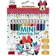 Mini block with Minnie crayons - Creative Kit