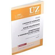 ÚZ 1351 Cestovní náhrady, Odměňování v podnikatelské sféře 2020: podle stavu k 6. 1. 2020 - Kniha