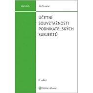Účetní souvztažnosti podnikatelských subjektů - Kniha
