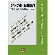 Daňové a mzdové zákony 2020 po novele: DPH, ZDP Zákoník práce, Zúčetnictví - Kniha