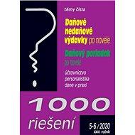1000 riešení Daňové nedaňové výdavky po novele, Daňový poriadok po novele: účtovníctvo, personalisti