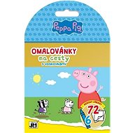 Travel colouring book with Peppa Pig wax crayons - Creative Kit