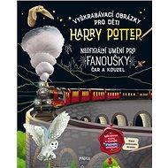 Vyškrabávací obrázky pro děti Harry Potter: Neoficiání umění pro fanoušky čar a kouzel - Kniha