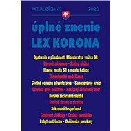 Aktualizácia V/2 úplné znenie LEX KORONA 2020: Opatrenia v pôsobnosti Ministerstva vnútra SR, Obecné - Kniha