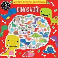Dinosauři Aktivity s pěnovými samolepkami - Kniha